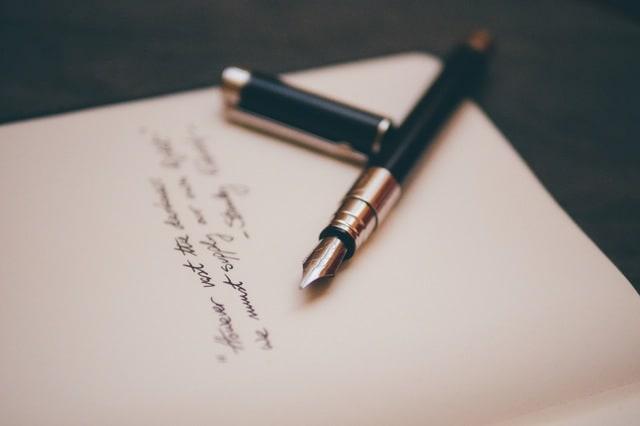Pen signing affidavit of entitlement